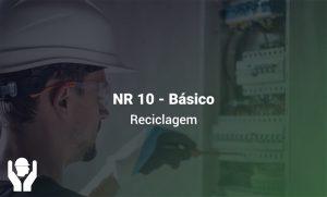 NR 10 – Segurança em Instalações e Serviços com Eletricidade Básico | Básico | Reciclagem