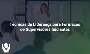 Técnicas de Liderança para Formação de Supervisores Iniciantes